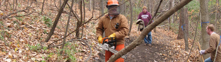Sawyer and Swamping Log - Volunteer Hours Form