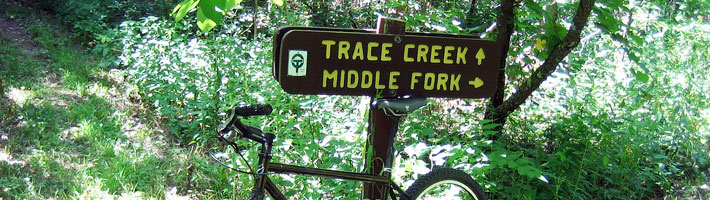 Ozark Trail - Trace Section - Southern Half