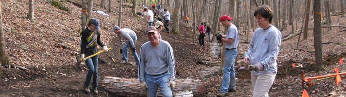Trail Construction Log - Volunteer Hours Form