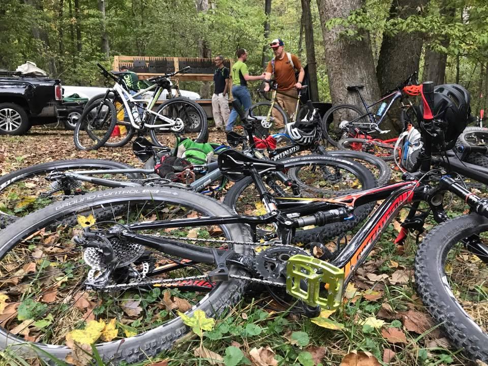 Bikes at Rock Hollow
