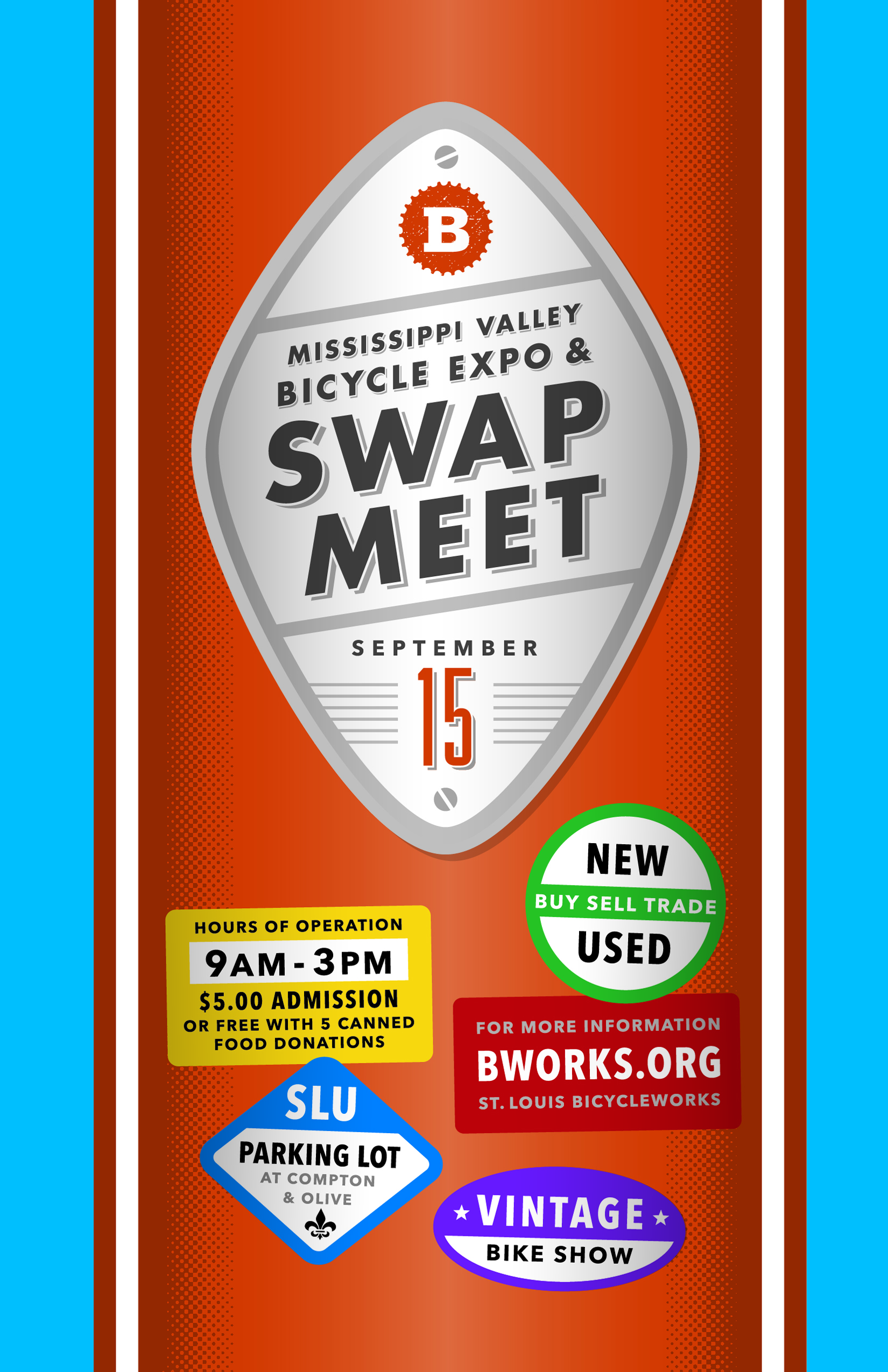 2013 mississippi valley bicycle expo swap meet