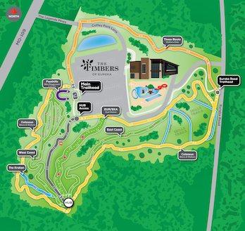 Eureka Mountain Bike Park Map