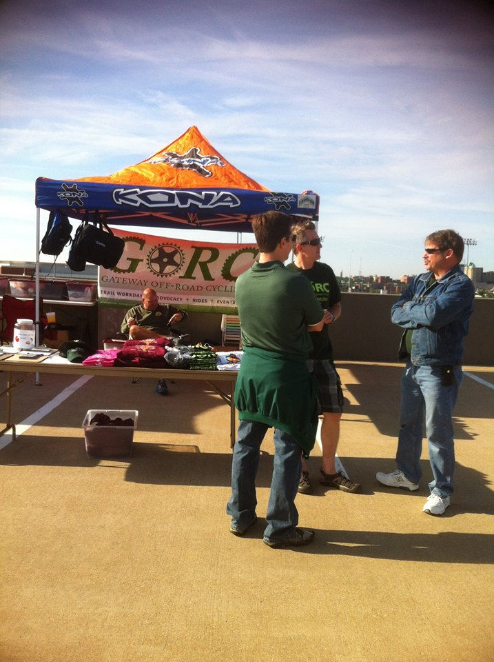GORC booth at the Mississippi Valley Bike Swap