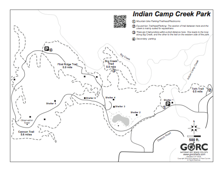 Indian Camp Creek   Gateway Off-Road Cyclists