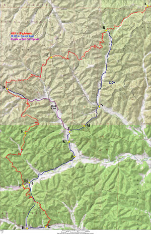 Middle Fork | Gateway Off-Road Cyclists