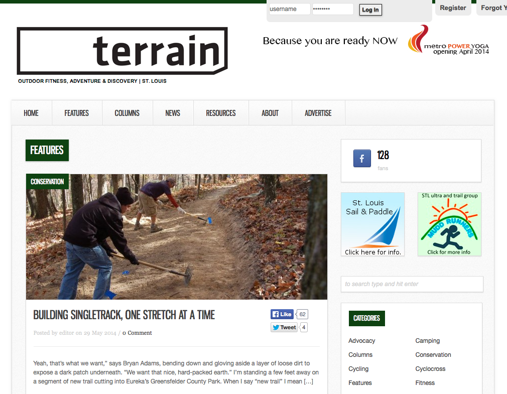 Terrain Mag - GORC Article