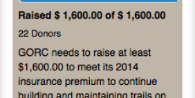 Screenshot - 2014 Insurance Fundraiser Accomplished
