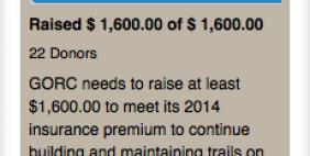 Screenshot - 2014 Insurance Fundraiser Accomplished