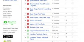 Trail Hotline Web App